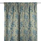 Yarmouth Floral Slate Blue Gardinlängd